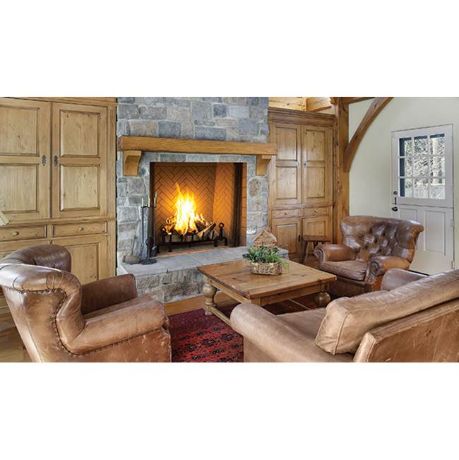 Fireplace Wood Burning Fireplace | Central Kitchen & Bath Showroom ...