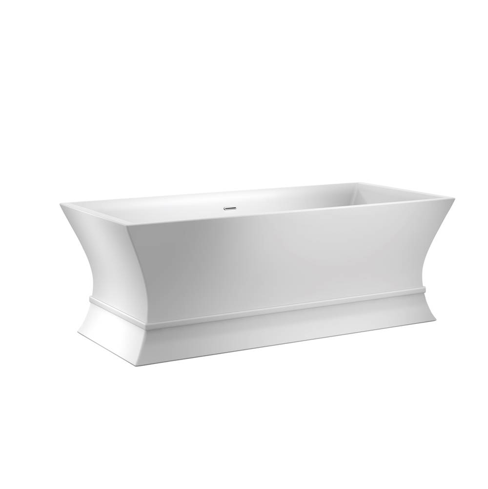 Barclay Free Standing Soaking Tubs item ATCRECN67B-WH