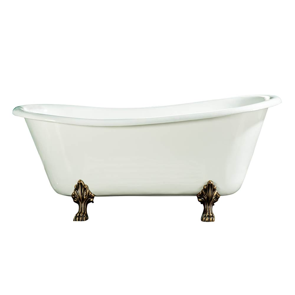 Barclay Clawfoot Soaking Tubs item CTSN67LP-WH-WH