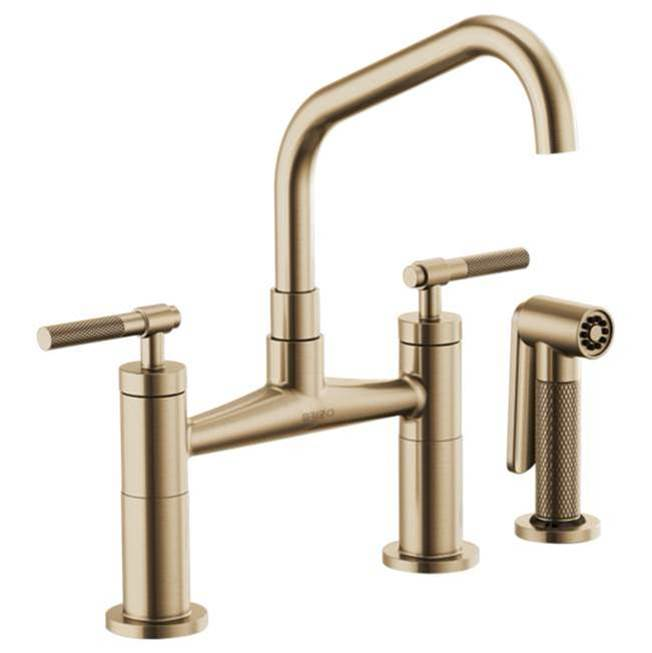 Faucets Kitchen Faucets Bridge Central Kitchen Bath Showroom - Bridge faucets for kitchen