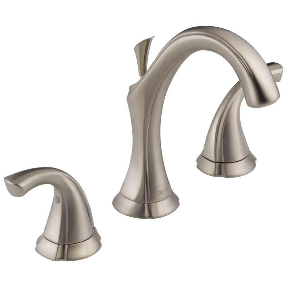 Delta Faucet Bathroom Faucets Bathroom Sink Faucets Widespread Steel ...