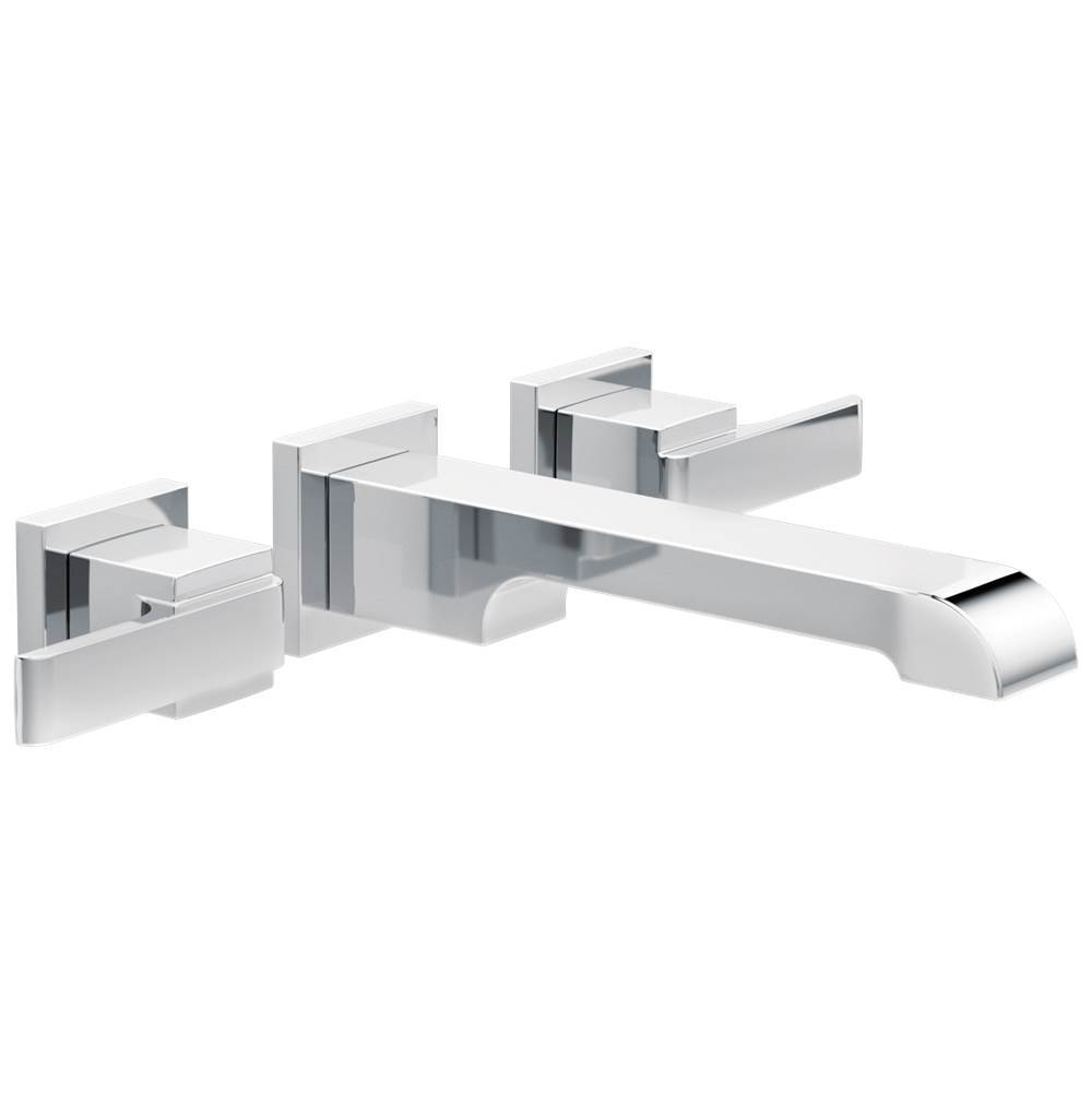 $254.80. T3567LF WL · Delta Faucet; Delta Ara: Two Handle Wall Mount  Bathroom ...