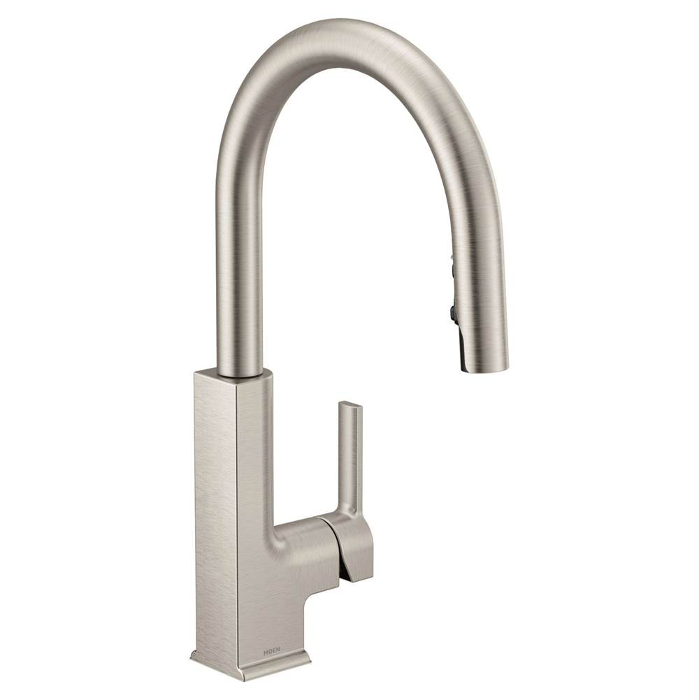 $701.50. S72308SRS · Moen; Sto Pd Kd Srs; Stainless; Single Hole Kitchen  Faucets
