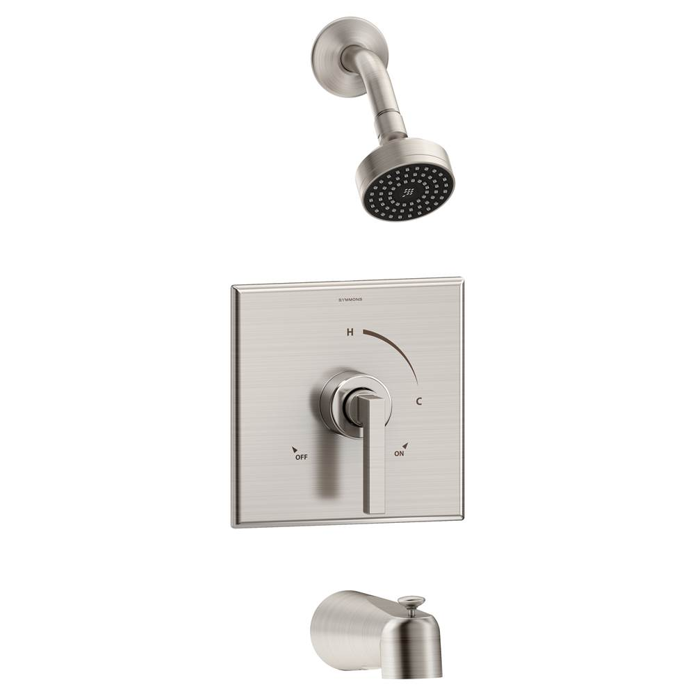 Tub And Shower Faucets Nickel Tones | Central Kitchen & Bath ...